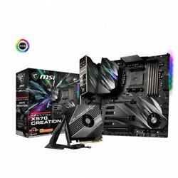 MSI Motherboard X570CREATION PRESTIGE X570 CREATION AMD RYZEN9 AM4 X570 Max128G $869.50