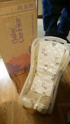 Vintage Century Infant Baby Carrier Car Seat 1960#x27;s in Original Box $75.00