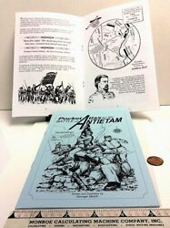 Pocket Atlas for the Battle of Antietam with maps and illustrations $4.95