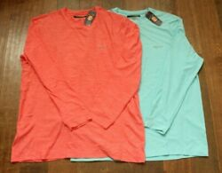 NWT Greg Norman Mens X Large Solar XP Moisture Wicking Tee 2 Colors COSH CLMH