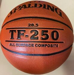 NEW Spalding TF 250 28.5quot; Basketball Intermediate And Women's Free Shipping $26.77