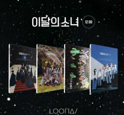 LOONA MONTHLY GIRL 3RD MINI ALBUM 12:00 SELECT VER POSTER KPOPPIN USA $157.99