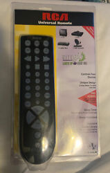 RCA Universal Remote Control LARGE Lights Up At Night