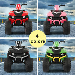 12V Kids Ride On 4 Wheeler Car Electric Battery Powered Toy ATV Car w Pedal $79.99