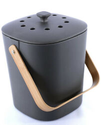 Bamboozle Food Composter Indoor Food Compost Bin for Kitchen Graphite $40.00
