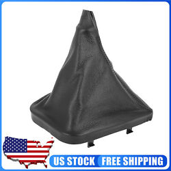 Gear Shifter Knob Boot Dust Cover PU Leather for 1999 2005 BMW 330d $17.99