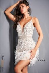 Jovani 04624 Short Cocktail Dress LOWEST PRICE GUARANTEE NEW Authentic $460.00