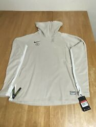 Nike FC Drill Top Mens AT6105 008 Beige Soccer New With Tags Size Large $65.00