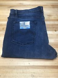New Urban Star Men#x27;s Relaxed Fit Straight Leg Jeans Blue 36X30 $26.99