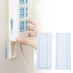 6Pcs Wall mounted Hanging Socket Organizer Holder for Home Hotel $6.34