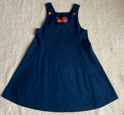 Chocolate Soup Girls Size 6X Navy Jumper $10.00