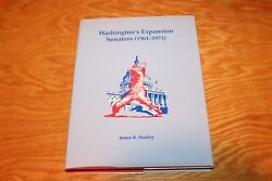 SIGNED Washington#x27;s Expansion Senators 1961 1971 by James R. Hartley 1998 HC $24.95