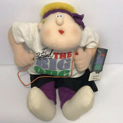 Vintage Hallmark I Survived The Big One Plush Doll Party Express 1987 Jump Rope $8.99