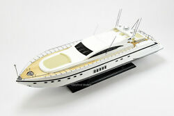 Mangusta 108 Handcrafted Wooden Model Boat 33quot; RC Ready $599.00