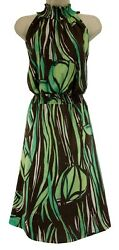 26 28 4X SEXY Womens ABSTRACT FLORAL SMOCKED WAIST DRESS Summer Party PLUS SIZE $49.99