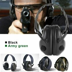 Folding Electronic Ear Muffs Noise Blocking Shooting Hearing Safety Protector US $28.76