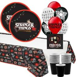 Stranger Things Halloween Party for 16 Guests with Balloons $32.99
