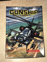 1986 Gunship The Attack Helicopter Simulator by Micro Prose IBM PC *Untested* $37.50