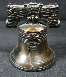 Vintage Brass Authentic Miniature Replica Of The Liberty Bell $7.99