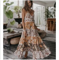 Spell And The gypsy Desert Daisy maxi dress XS $200.00