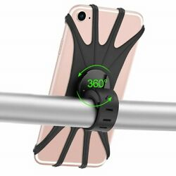 Silicone Bicycle Phone Holder for IPhone 11 pro max 6 7 8 plus X Xr Xs for $6.62