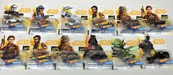 Lot Of 12*** STAR WARS Hot Wheels Character Cars DARTH VADER *New in Package* $75.00