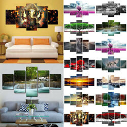 US Modern Picture Abstract Canvas Wall Art Oil Painting Home Wall Decor Unframed $20.80