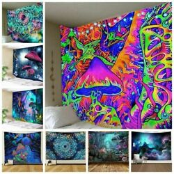 Hippie Psychedelic Tapestry Decoration Wall Hanging Blanket Art Home Decor USA $16.59