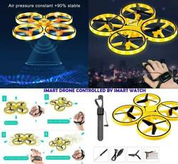 Smart Watch Remote Controlled Drone Quadcopter Helicopter Kids Xmas Gifts Toys GBP 20.99