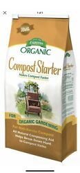 Espoma Organic Natural Compost Starter 4 Lb Makes Compost Faster Breaks Down $12.99