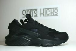 Men#x27;s Nike Air Huarache Black Running Shoes Size 6 15 318429 003 $169.95