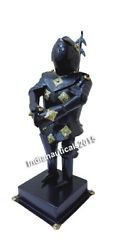 Medieval Royal Knight Mini Suit Of Armor Office Decor Costume $155.00