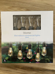 10ct Edison commercial Lights Clear