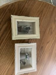 Vintage 3 D Shabby Chic Shadow Boxes $25.50