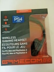 Plantronics GameCom 818 Wireless Stereo Headset Gaming for PC Mac play station 4 $92.00