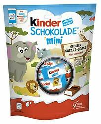 Kinder Chocolate Mini 120g with Milk Filling Individually Wrapped GERMAN Product $7.99