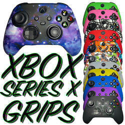 NEW Gaming Skin Silicone Rubber Case Cover For Xbox Series X S Controller Grips $8.85