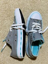 CONVERSE ALL STAR Girls LOW TOP 28750 SNEAKERS SIZE 2 $18.00