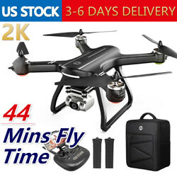 Holy Stone HS700D RC Drones with 2K hd Camera GPS Brushless quadcopter FPV Case $219.99