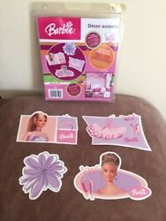 Barbie wall decals 2004 $4.50