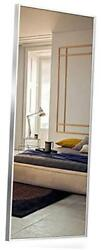 Full Body Floor Modern amp; Contemporary Full Length Mirror Large Silver Stainless $296.34