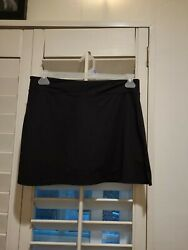 Tranquil Black Tennis Skirt Skort Shorts Under Women's Size Medium Tennis Skirt $13.00