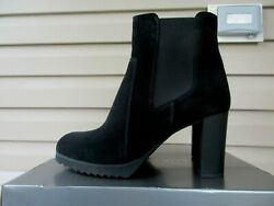 La Canadienne Womens Boots Black Suede 11 M Mabel NEW Canada $498 $79.00