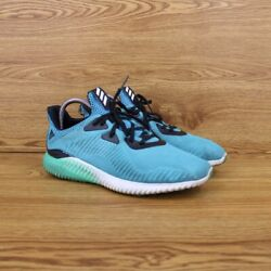 Adidas Alpha Bounce #x27;Energy Blue#x27; Athletic Running Sneakers Men#x27;s Size 7 Shoes $45.00