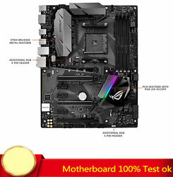 100% Tested FOR ASUS ROG Strix B350 F Gaming Motherboard Support AMD DDR4 64GB C $482.00
