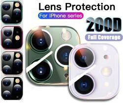 For iPhone 12 11 Pro Max FULL COVER Tempered Glass Camera Lens Screen Protector $3.45