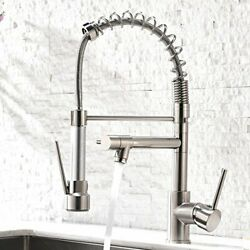 Contemporary Kitchen Sink Faucet Single Handle Stainless Steel Kitchen Faucets $149.22