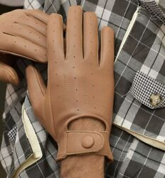 Genuine Soft Sheep Leather driving gloves $16.99