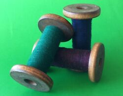Wooden Spools Country Primitive Decor Set of 3 $9.99