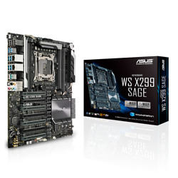 NEW ASUS WS X299 SAGE Motherboard CPU SOCKET LGA2066 Intel DDR4 quad GPU support $611.90